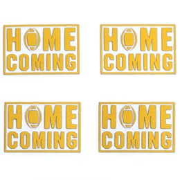 Gold Homecoming Metallic Temporary Tattoos