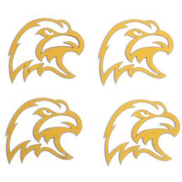 Gold Eagle Metallic Temporary Tattoos