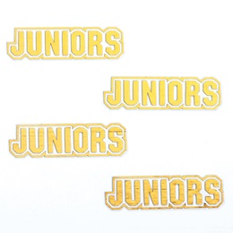 Gold Juniors Metallic Temporary Tattoos