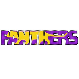 Put-in-Cups Fence Decorations, Panthers