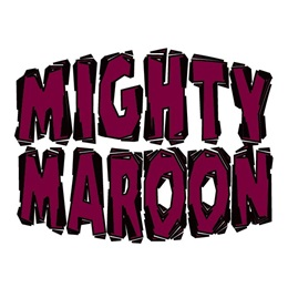 Mighty Maroon Temporary Tattoo