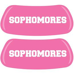Sophomores Pink EyeBlacks