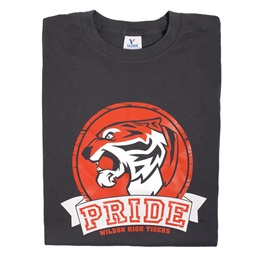 Custom Black T-Shirt - Tiger Pride