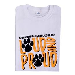 Custom T-Shirt - Loud and Proud