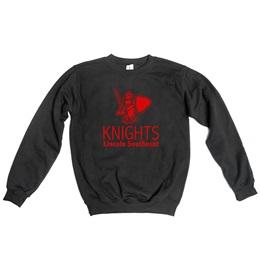 1-color Custom Crew Neck Fleece Sweatshirt