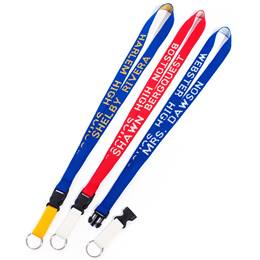 Two-color Personalized Lanyard