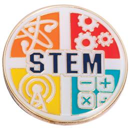 STEM Award Pin - 4 Subjects