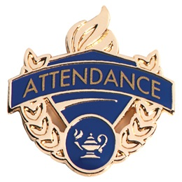 Attendance Pins