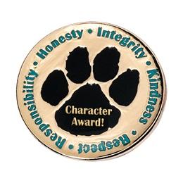 Character Award Pin - Paw