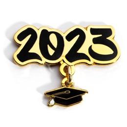 Grad Cap Dangler Award Pin - Class of 2023