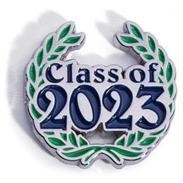 Class of 2023 Award Pin - Laurel Leaves