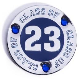 Class of 2023 Award Pin - Blue Rhinestones