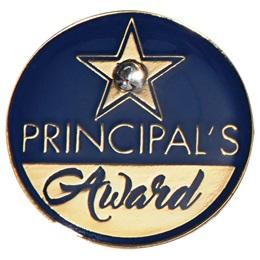 Principal's Award Pin - Bling Star
