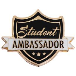 Student Ambassador Shield Pin