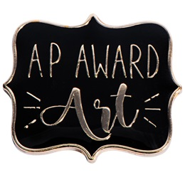 AP Art Award Pin