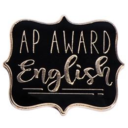 AP English Award Pin