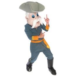 Rebel Soldier Mascot Costume