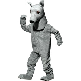 Greyhound Mascot Costume