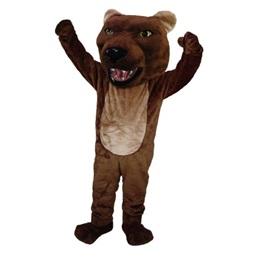 Spirited Bear Mascot Costume
