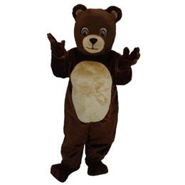 Cheerful Bear Mascot Costume