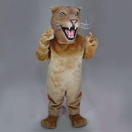 Female Lion Mascot Costume