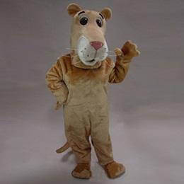Cartoon Lioness Mascot Costume