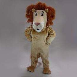Lovable Lion Mascot Costume