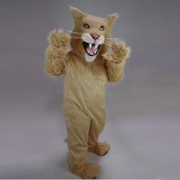 Saber Tooth Cat Mascot Costume