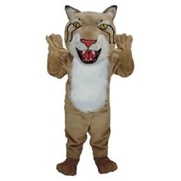 Fierce Bobcat Mascot Costume