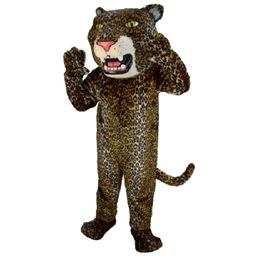 Fierce Jaguar Mascot Costume