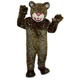 Leopard Mascot Costume