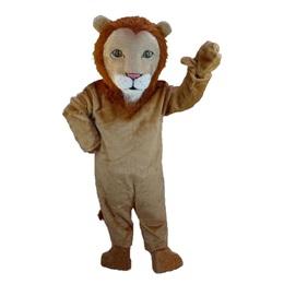 Majestic Lion Mascot Costume
