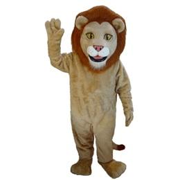 Regal Lion Mascot Costume