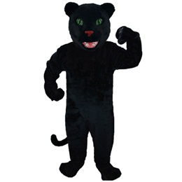 Smiley Panther Mascot Costume
