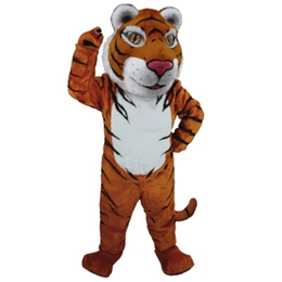 Sumatran Tiger Mascot Costume
