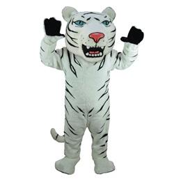 Albino Tiger Mascot Costume