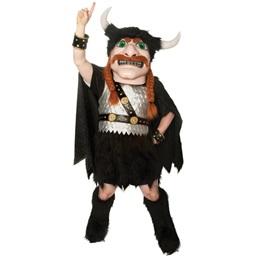 Red-haired Viking Mascot Costume