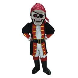 Skull Pirate Mascot Costume