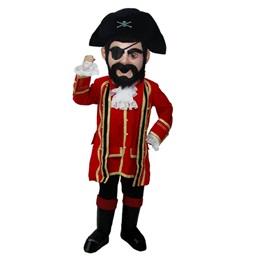 Swashbuckling Pirate Mascot Costume