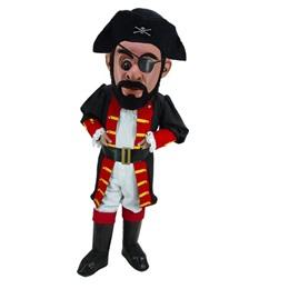 Pirate Captain Mascot Costume