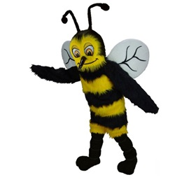 Happy Hornet Mascot Costume