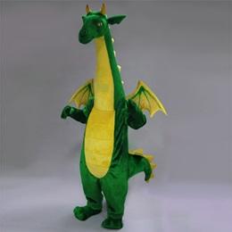Friendly Dragon Mascot Costume