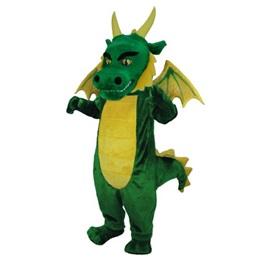 Fearsome Dragon Mascot Costume
