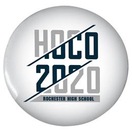 """HOCO 2020 2 1/4"""" Button"""