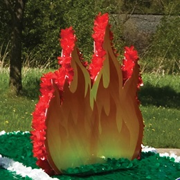 Fire 'em Up Flames Float Kit