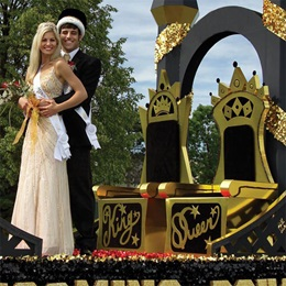 Their Majesties' Thrones Float Kit