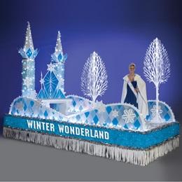 Winter Wonderland Parade Float