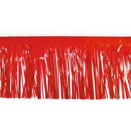 """30"""" Vinyl Fringe - Red"""