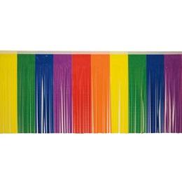 """Rainbow Fringe 15"""" x 10'"""