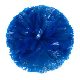 Wetlook Cheerleader Pom-Poms - 4 in. Solid Color with Baton Handle